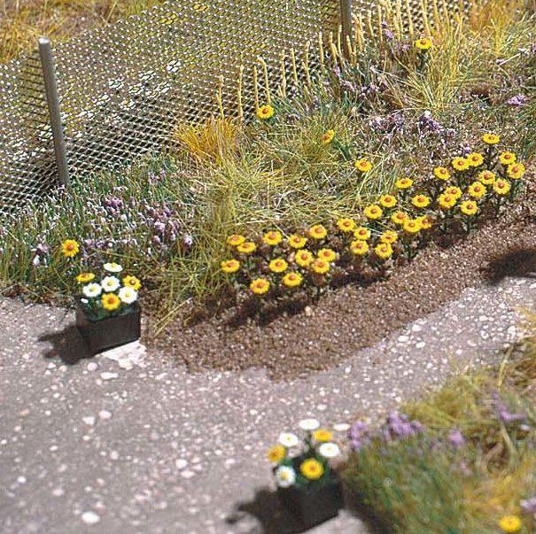 HO BUSCH 9790 30 DANDELION MODEL RAILWAY SCENERY FLOWERS KIT BNIB OO