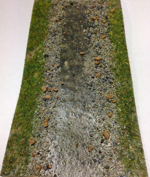 Javis Stream / Ditch / River / Road
