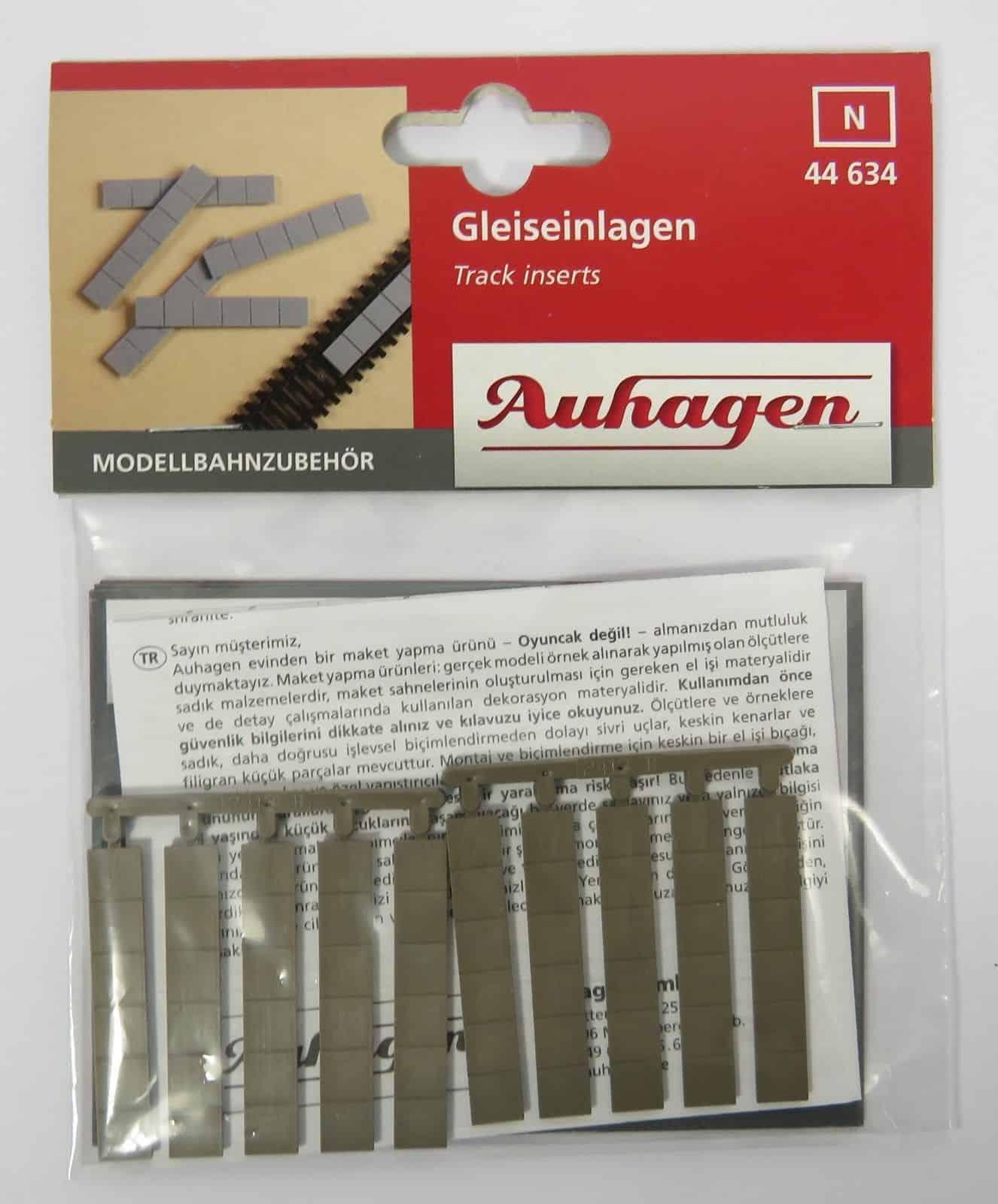 Auhagen 44634 Track Inserts Modelling Kit