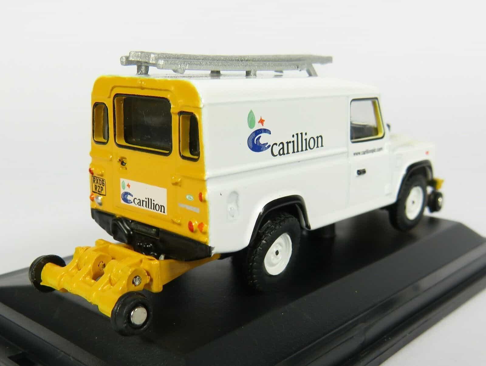 OXFORD RAIL OR76ROR007 1:76 OO SCALE Rail Road Defender Carillion