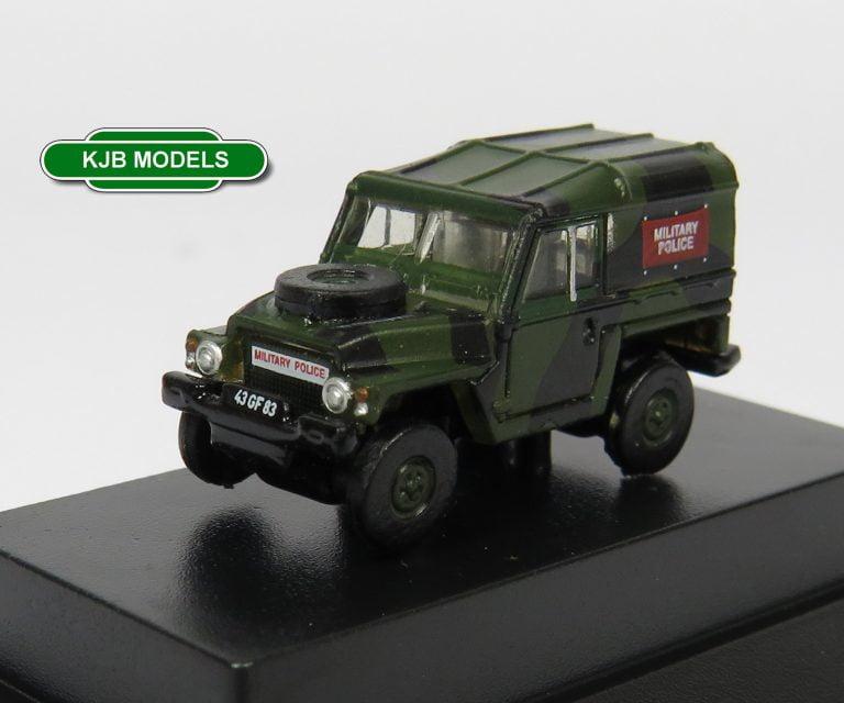 Oxford Diecast N Gauge Military Vehicles