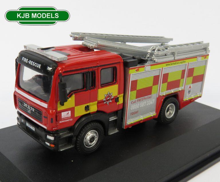 Oxford Diecast N Gauge Emergency Services