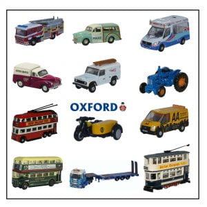 Oxford Diecast N Gauge Vehicles