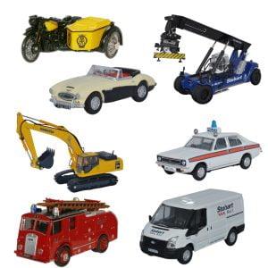 Oxford Diecast OO Gauge Vehicles