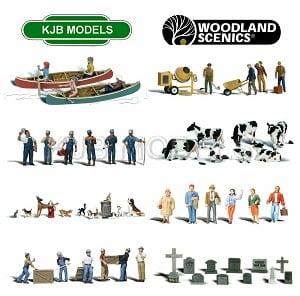 Woodland Scenics O Gauge Figures