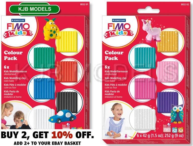 FIMO Kids Colour Packs