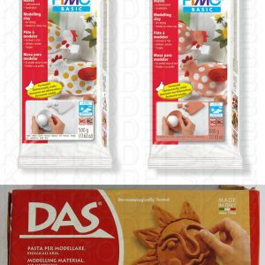 DAS & FIMO Air Drying Modelling Clay
