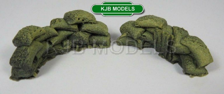 Javis OO Gauge Sandbags & Rubble