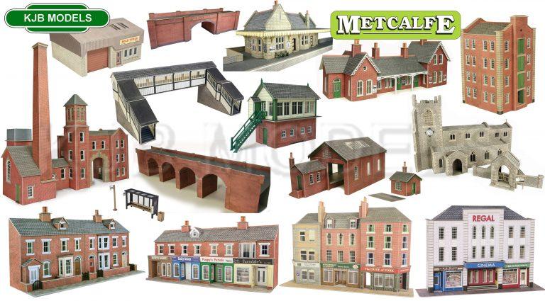 Metcalfe OO Gauge Cardboard Kits