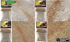 Woodland Scenics Road Accent Powder