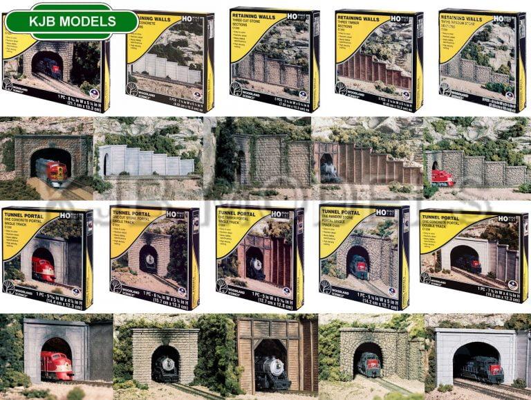 Woodland Scenics Tunnel Portals & Water Culverts