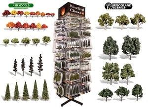 Woodland Scenics Premade Trees