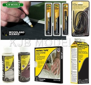 Woodland Scenics Road Accessories