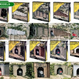Woodland Scenics HO/OO Tunnel Portals